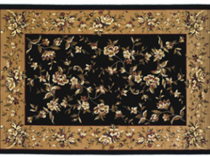 Kashan Floral Hearth Rug