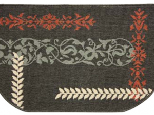 Textured Weave Theme Hearth Rugs